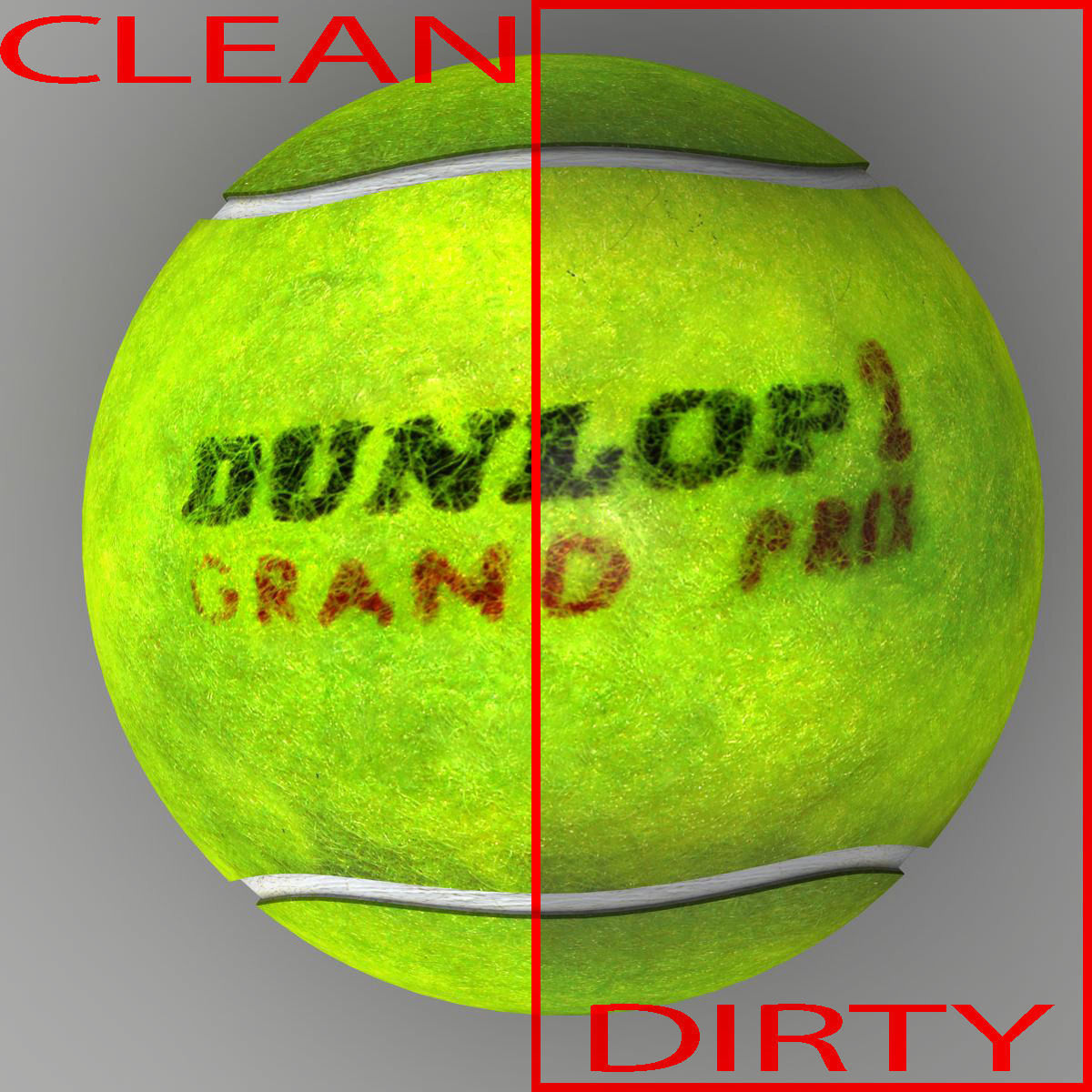 Tennis Ball Dunlop 3d Model Cgtrader