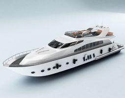 Yacht 006 3D Model