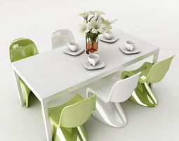 dining table 47 3d