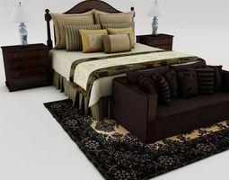 description 3D model Bedroom set