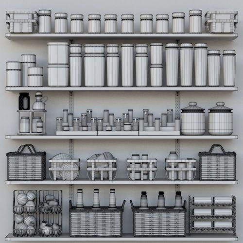 decor for kitchen 3d model max obj mtl fbx 1