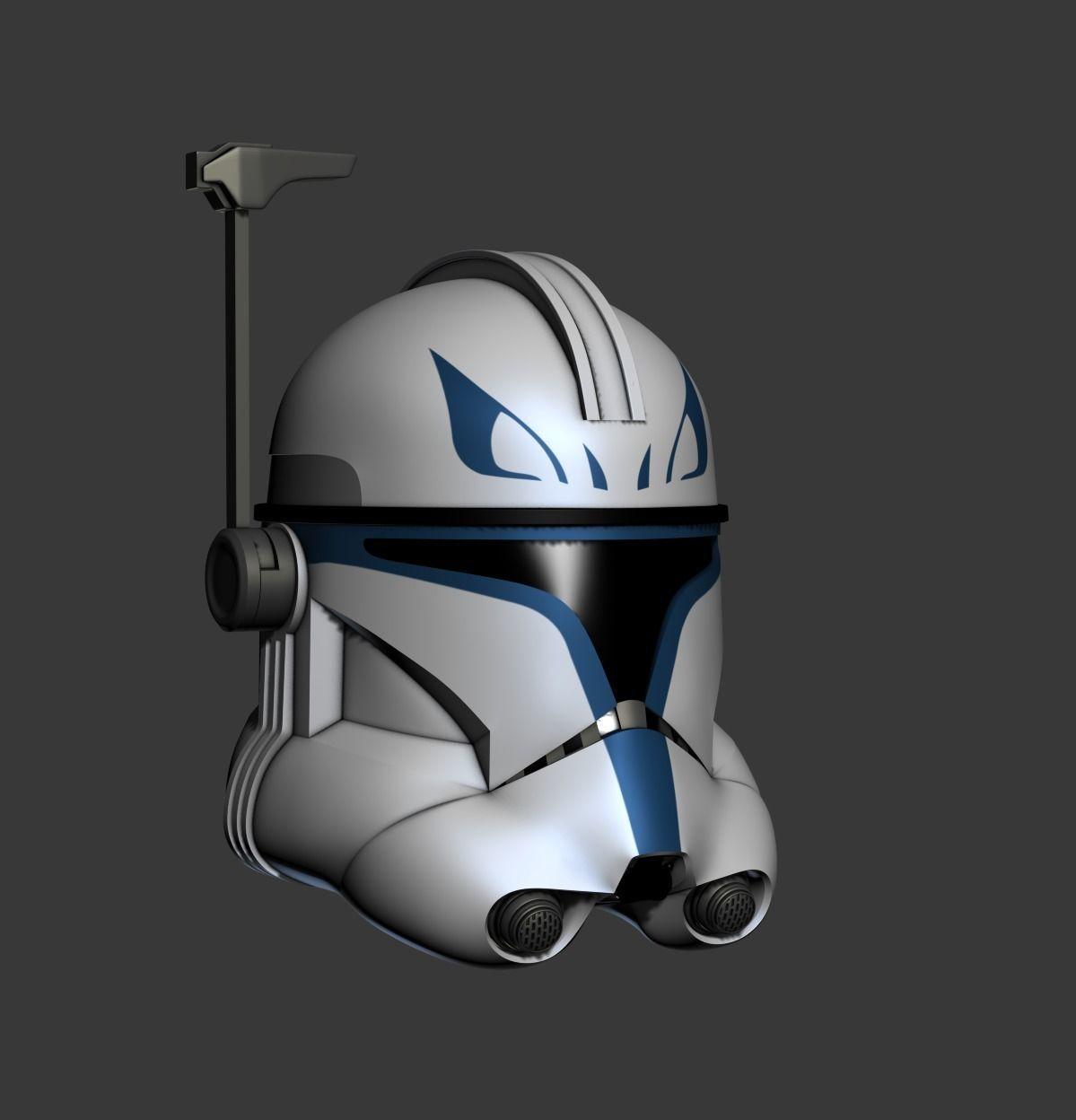 Clone Captain Rex Helmet