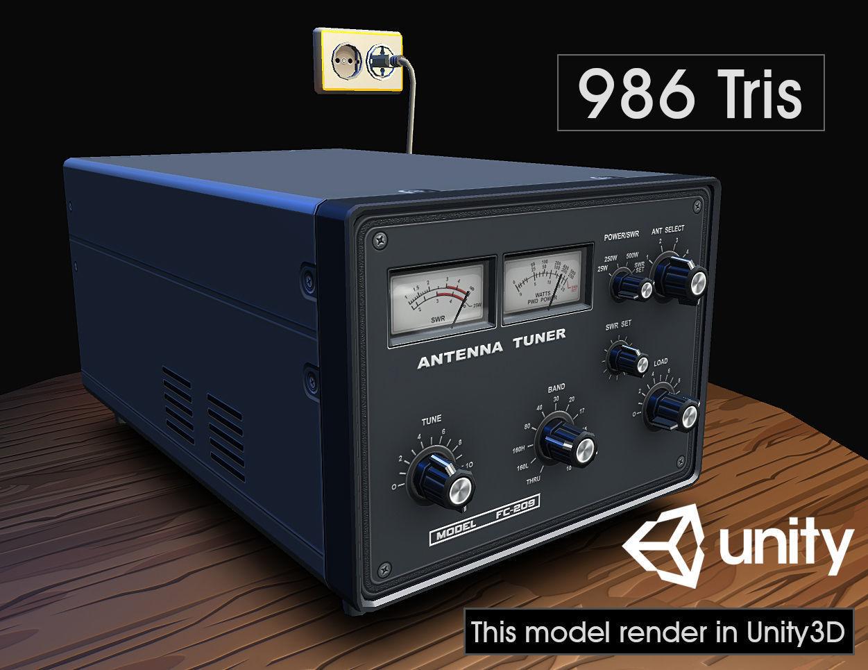 Ham Radio Antenna Tuner | 3D model