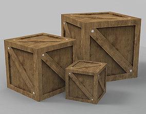 3D asset PBR Box