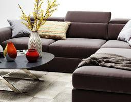 vavicci martin corner sofa 3d