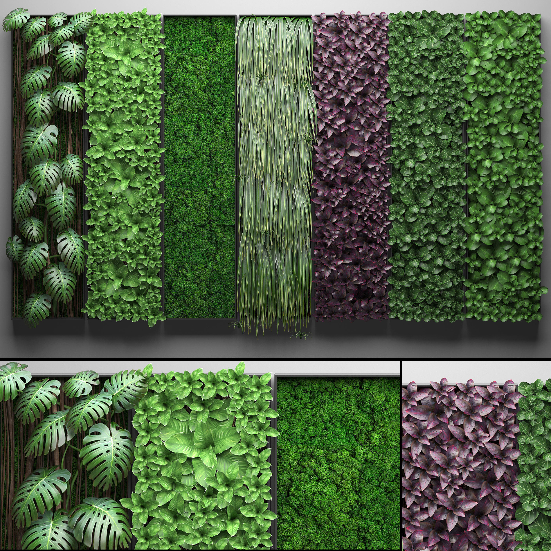 Vertical gardening collection