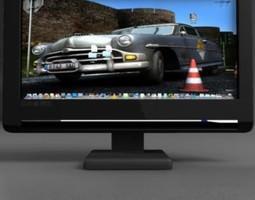 TFT computer monitor 3D tft