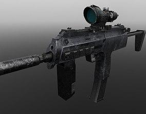 3D model MP7 gun