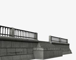 3D model Modular embankment