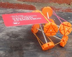 3D printable model Construction Wheel