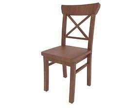 Dining Chair 01 3D asset