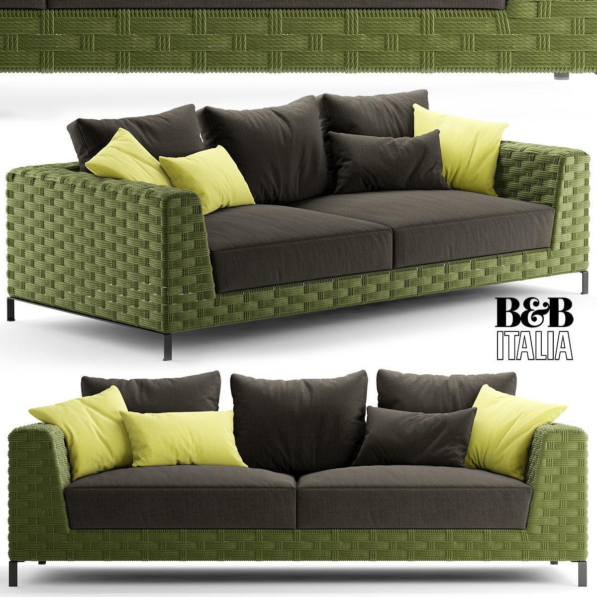 Bb Italia Ray Outdoor Natural 3d Model Fabric Cgtrader