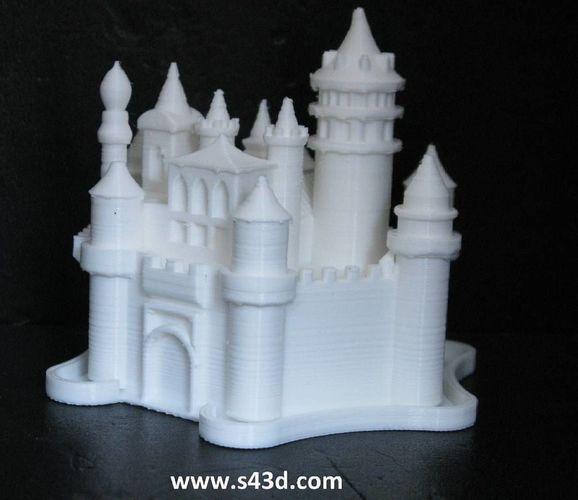 dream castle 3d model stl 1