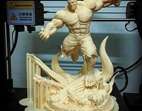 3D printable model Hulk Angry - Super Hero - Marvel