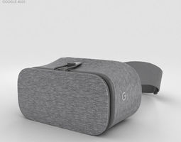 3D model Google Daydream View Slate