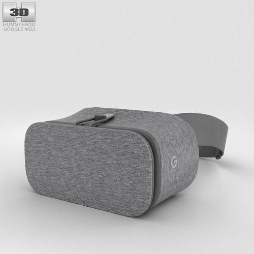 google daydream view slate 3d model max obj mtl 3ds fbx c4d lwo lw lws 1