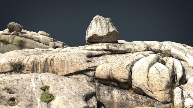 mountain rocks 3 3d model max obj mtl fbx ma mb 1