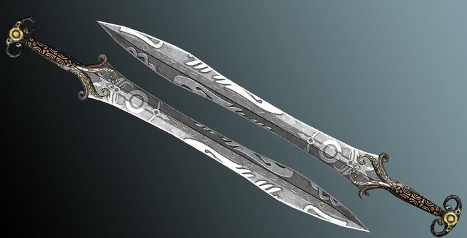 Как сделать меч в 3d max