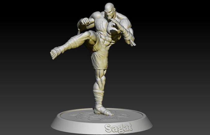Street Fighter Sagat