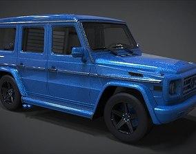 2011 Mercedes-Benz G-Class G55 AMG 3D asset