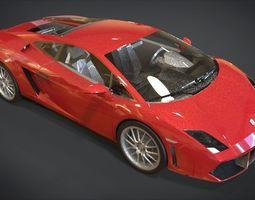 3D model realtime Lamborghini Gallardo
