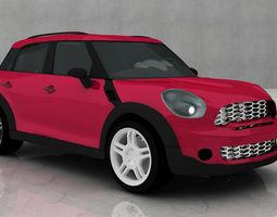 Mini Cooper Car 3D Model