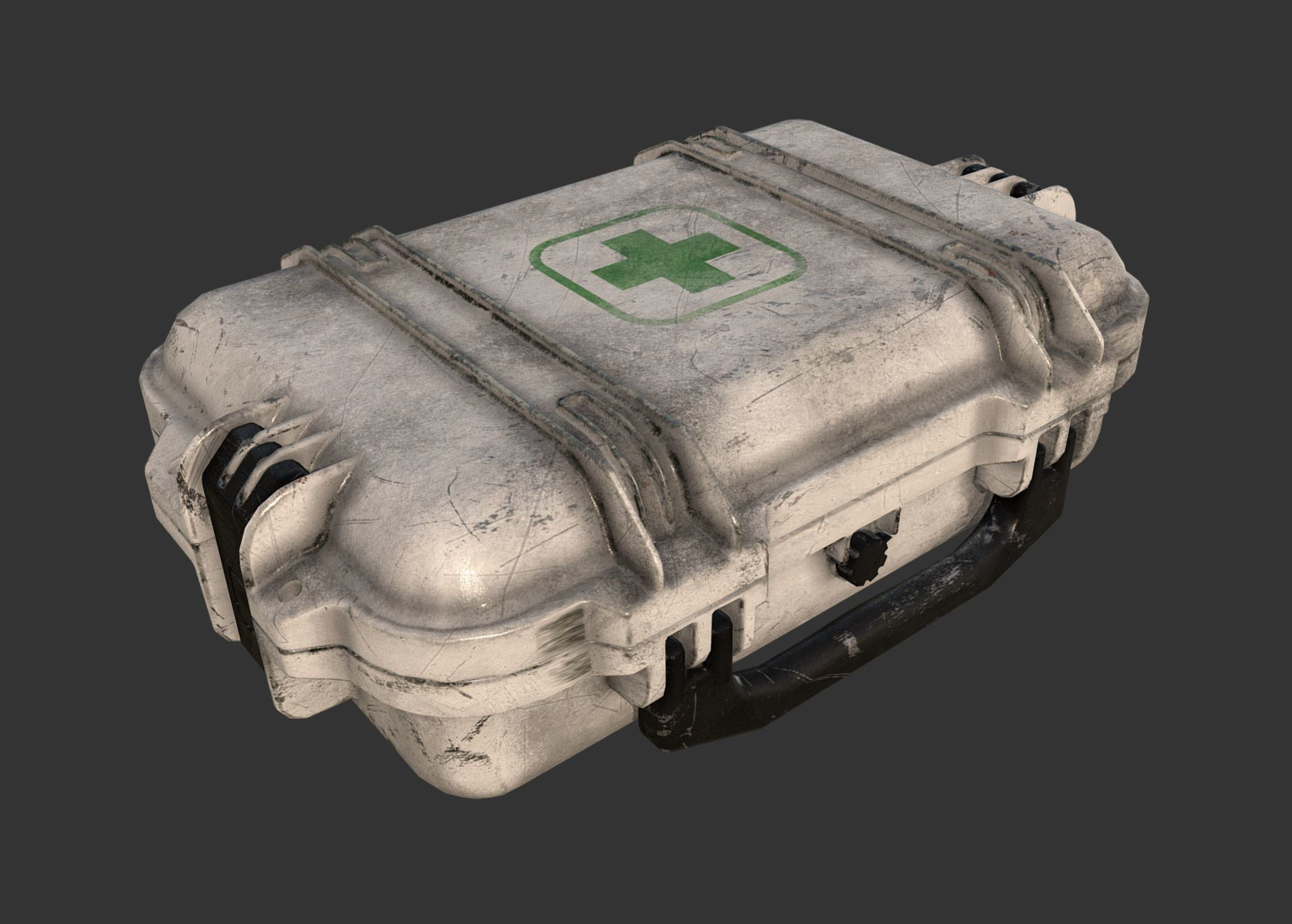 Military First Aid Kit Case | 3D model