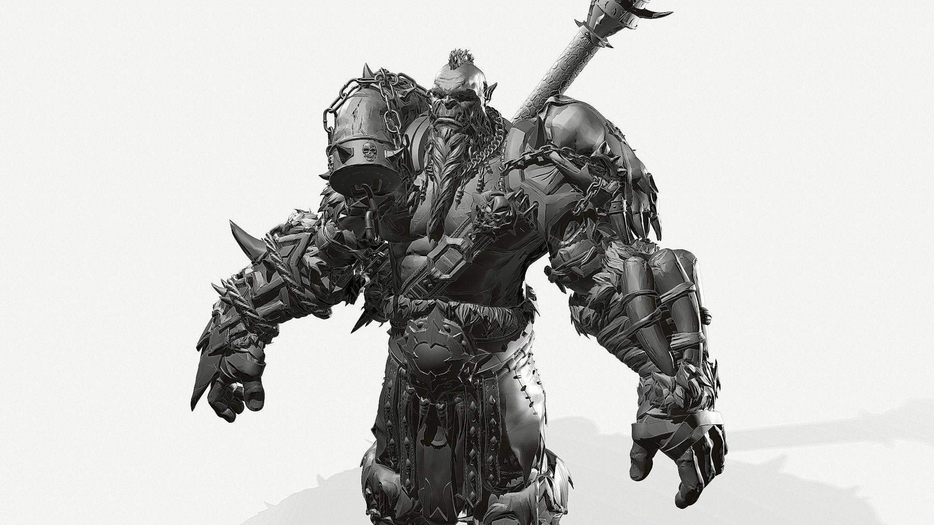 Zbrush Orc   3D model
