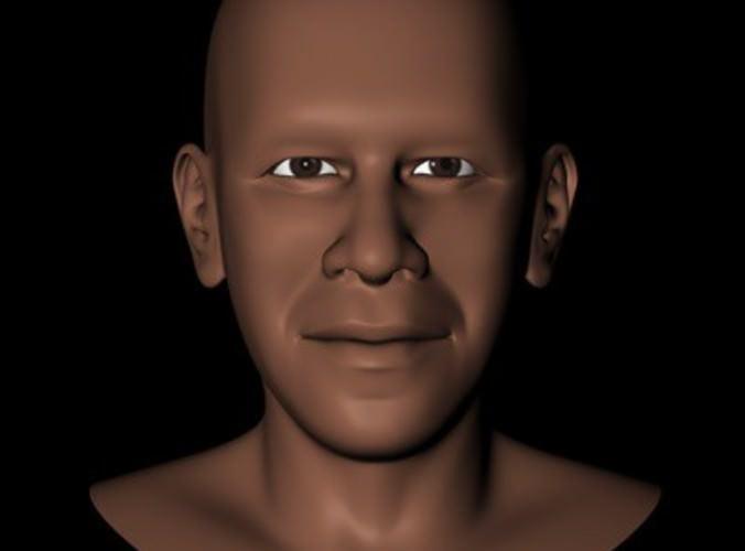 President Barack Obama Head3D model