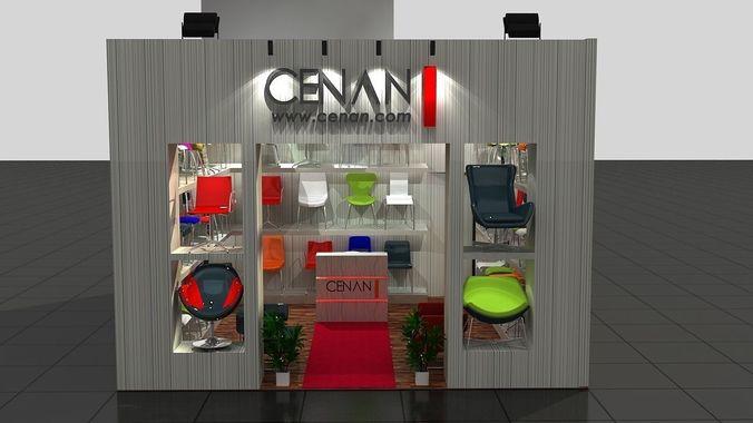 Cenan Exhibition Stand3D model