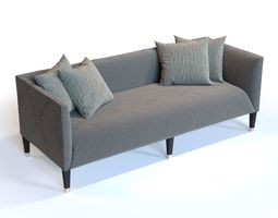 Bernhardt Furniture N2257 Monaco Settee 3D model