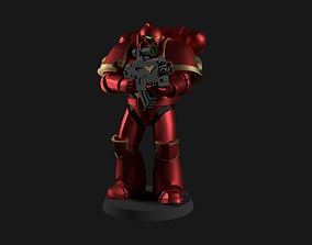 Space Marine Miniature Warhammer 40k 3D printable model
