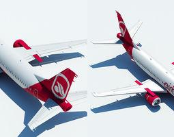 interior 737 Air berlin 3D model