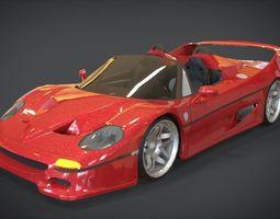 Ferrari F50 3D asset
