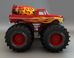 3D model monster-truck Monster Truck
