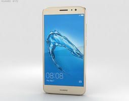Huawei Nova Plus Prestige Gold 3D model