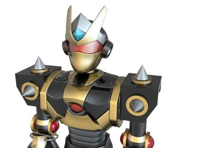 Striker Robot3D model