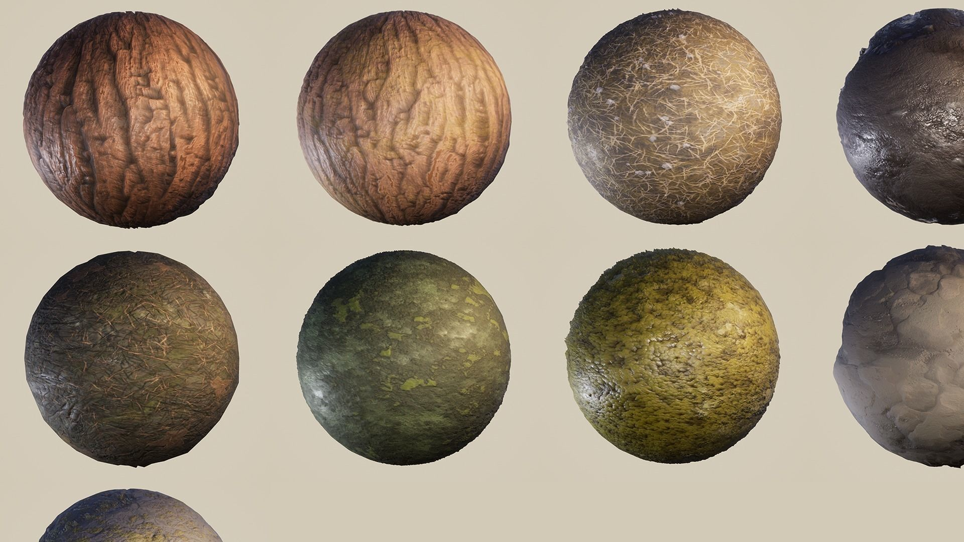 9 Seamless UE4 PBR Materials - Unreal Engine Forest Pack | Texture
