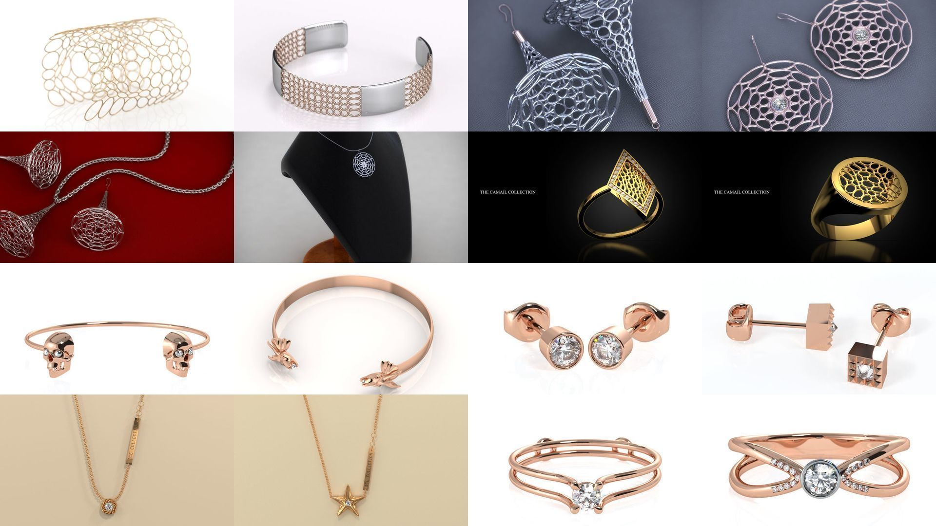 Modern and Fashionable Jewelry