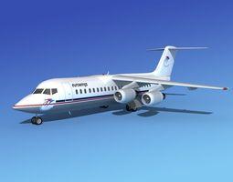 BAe 146-300 Eurowings 3D