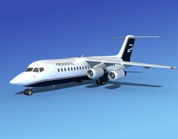 3D model BAe 146-300 Presidential