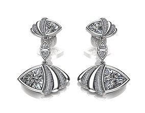 Beautiful Earrings 3D print model