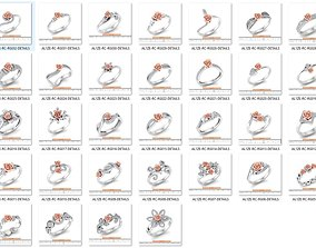 Bulk Rings-0050-3dm with stones-32 Files