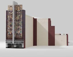 3D asset Paramount Theater