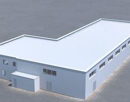 3D model Building office v9