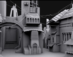 Old Town 3D