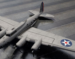 American WW2 Bomber Collection 01 3D model