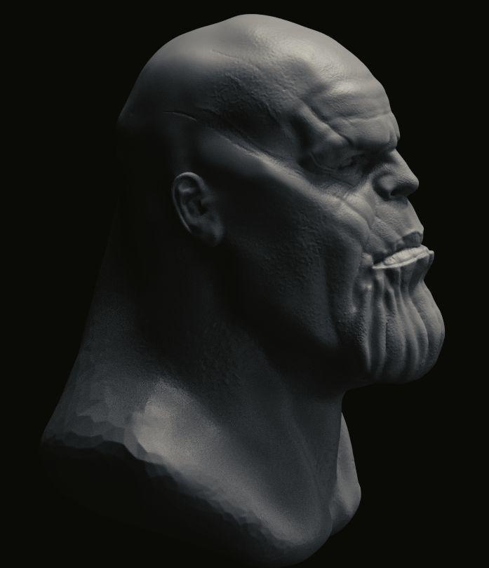 Thanos 3d head