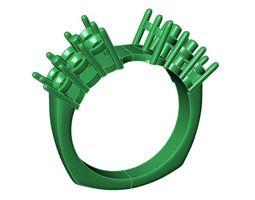 3D printable model Engagement Ring -7