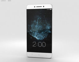 3D LeEco Le Pro 3 Silver